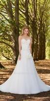 Camille La Vie Sweetheart Beaded Satin Mesh A Line Wedding Dress