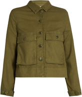 The Great Swingy canvas jacket