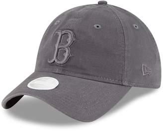 New Era Women's Graphite Boston Red Sox Tonal Core Classic 9TWENTY Adjustable Hat