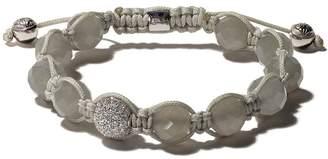 Shamballa Jewels 18kt white gold diamond bead bracelet