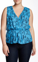 BB Dakota Carlin Sleeveless Blouse (Plus Size)