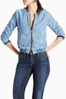 Lucky Brand Denim Bomber Jacket