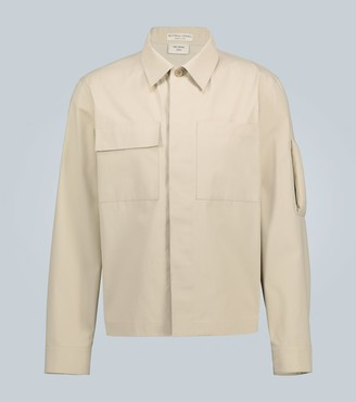 Bottega Veneta Cotton overshirt with arm detail
