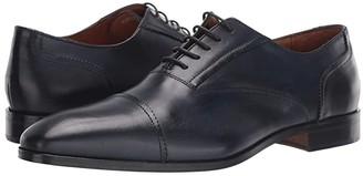 Massimo Matteo Dante Cap Toe Bal (Black) Men's Shoes