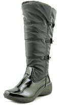 Khombu Abigail Wide Calf W Round Toe Leather Winter Boot.