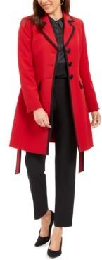 Le Suit Topper-Jacket Straight-Leg Pants Suit