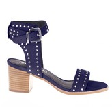 Sole Society Porter Heel Strappy Sandal