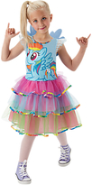 Rubie's Costume Co My Little Pony Rainbow Dash Deluxe Dress, 5-6 years