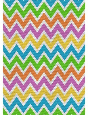 Latitude Run Beacan Patterned Pink Blue Green Area Rug Rug Size Rectangle 7 X 9 Shopstyle
