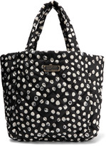 Marc by Marc Jacobs Crosby quilted printed shell tote
