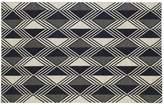 Kaleen Nomad Diamond Geometric Reversible Wool Rug - 9' x 12'