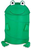 Honey-Can-Do HMP-02058 Kid's Pop-Up Hamper, Frog, Large