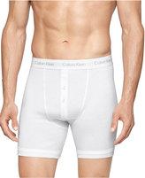 Calvin Klein Button-Fly Boxer Briefs, 3 Pack NB1120