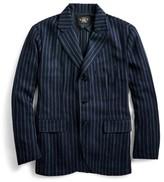 Ralph Lauren Slim Striped Indigo Sport Coat