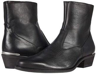 Shoe The Bear Enzo L Metal EMB (Black) Men's Shoes