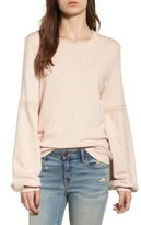 Hinge Women's Blouson Sleeve Sweatshirt
