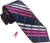 Asstd National Brand Susan G Komen Plaid Tie