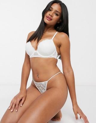 Cotton On cindy push up bra in cream