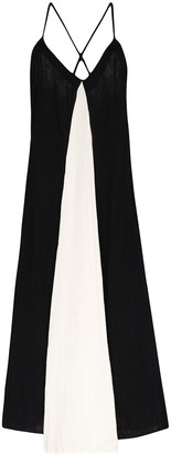Mara Hoffman Miro flared maxi dress