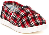 Toms Classic Plaid Shoe (Baby & Toddler)