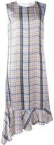 Aalto asymmetric drop waist dress