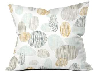 Deny Designs Sharon Turner Pebbles Copper Throw Pillow