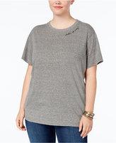 Rachel Roy Trendy Plus Size Take It Easy Graphic T-Shirt