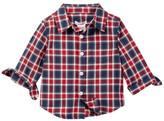 Joe Fresh Classic Plaid Shirt (Baby Boys)