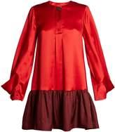 Roksanda Katra bi-colour satin dress