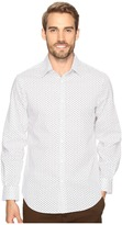 Perry Ellis Stretch Geometric Rectangle Shirt