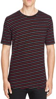 Rag & Bone Colin Diagonal Stripe Tee