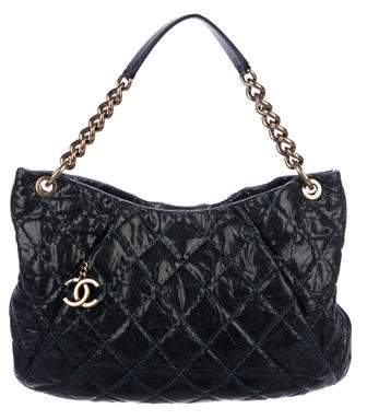 Chanel Caviar Coco Pleats Hobo