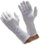 Go Gloves Extra-Long Cotton Gloves - or White (Men's Med, )