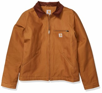 Carhartt Men's Duck Detroit Jacket Work Utility Outerwear