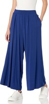 Thumbnail for your product : Anne Klein Women's Ak Sport Pleated Wide Leg Crop Pant