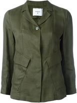 Dondup flap pocket jacket - women - Linen/Flax/Acetate/Viscose - 42