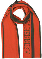 Carolina Herrera Two-Toned Logo Scarf