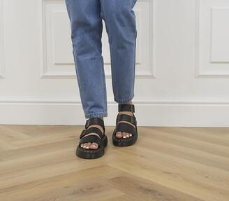 Dr. Martens Gryphon Quad Sandals Black
