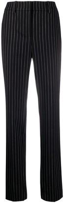 Emporio Armani Tailored Stripe Print Trousers