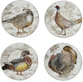 Williams-Sonoma Williams Sonoma Plymouth Woodland Birds Mixed Appetizer Plates, Set of 4