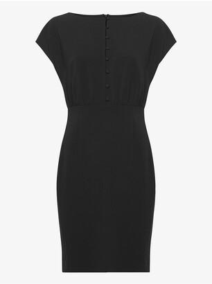 French Connection Boh Whisper Short Sleeve Dress
