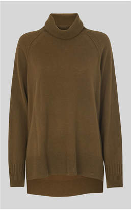 Whistles Cashmere Roll Neck Sweater