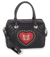 Love Moschino Borsa Quilted Zippered Bag