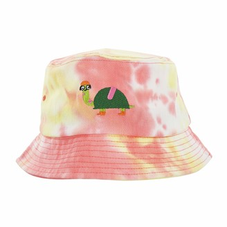 Pavilion Gift Company Oh Shell Yeah-Turtle Humorous Tie Dye Adult Bucket Hat