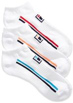 Fila Women's 3-Pk. Double Stripe No-Show Socks