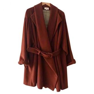 Kenzo Orange Coat for Women Vintage