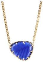 Kendra Scott Merritt Necklace (Cobalt Cats Eye) - Jewelry