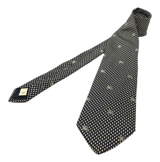 Burberry Black Silk Ties