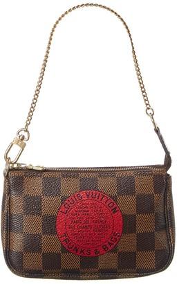 Louis Vuitton Damier Ebene Canvas Mini Pochette Accessoires