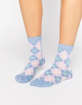 Asos Argyle Ankle Sock
